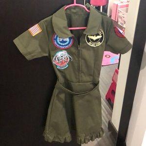 Girls pilot dress